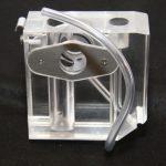Měřící komora s dvojitým sklem